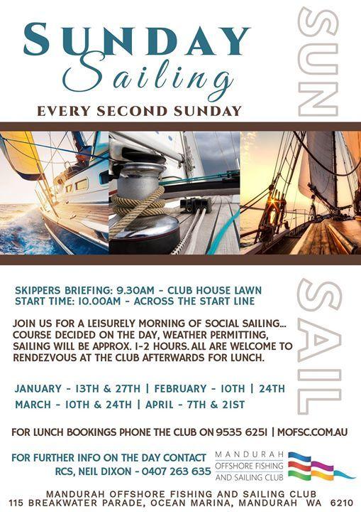 Sunday Sailing At Mandurah Offshore Fishing And Sailing Club115