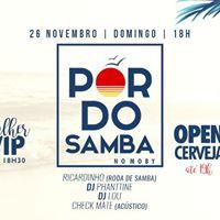 Pr do Samba - Open Breja na Varanda  Moby Dick