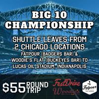 Big 10 Championship Bus - Round Trip Chicago