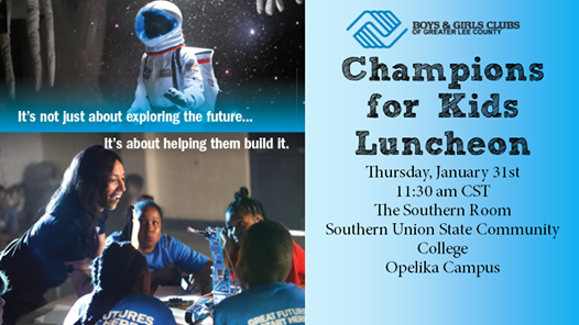 Annual Champions For Kids Luncheon At Southern Union State Community