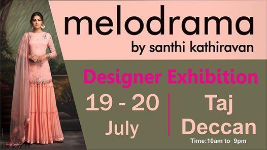 Melodrama - A Designer Exhibition by Santhi Kathiravan