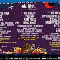 Bilbao BBK Live 2017 al 40%