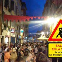 Salsa en la Calle 2017 rue dEspagne  Bayonne