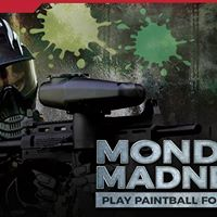 Go Mad on Mondays  Play Paintball For Only AED 50
