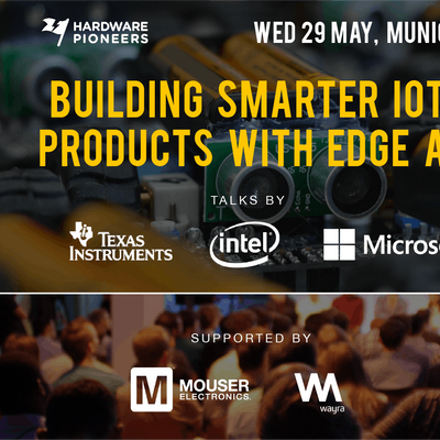 Building Smarter IoT Products with Edge AI - Talks by Intel Microsoft and Texas Instruments