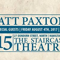 Matt Paxton Emma Van Dyk Live at Staircase Theatre