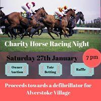 Charity Horse Racing Night