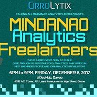 Mindanao Analytics (Davao) Freelancers First Meetup