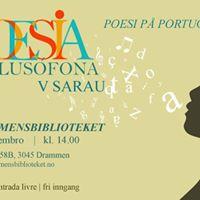 V Sarau de Poesia da Lusofonia Oslo