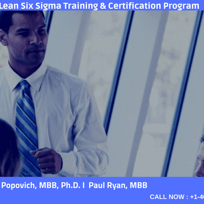 Lean Six Sigma Black Belt-4 days Classroom Training In Tulsa OK