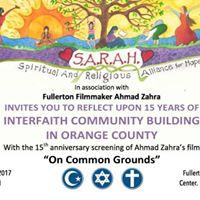 15 Years of Interfaith in Orange County