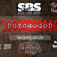 PSYCHOGOD &amp Machiavellian God In Sibiu