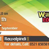 Worldwide Education Expo 2017 in Rawalpindin