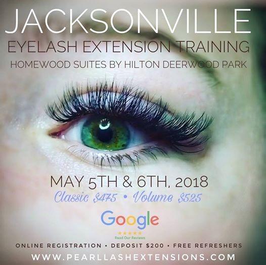 eyelash extension training jacksonville, september 2018 at homewood ...