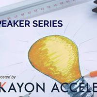 The Kayon Speaker Series