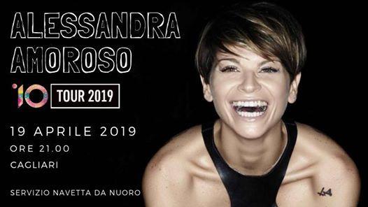 Alessandra Amoroso 19 Aprile Cagliari - Navetta da Nuoro