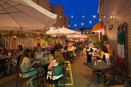 Cena al fresco under the stars at trattoria gianni chicago