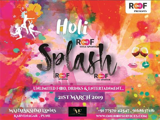 Holi Splash by One Roof Service