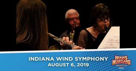Indiana Wind Symphony on the Indiana State Fair Free Stage at