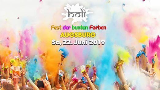 Sa 22. Juni 2019  HOLI Festival Augsburg 2019