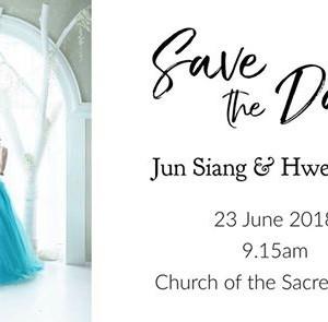The Wedding of Jun Siang &amp Hwee Chin
