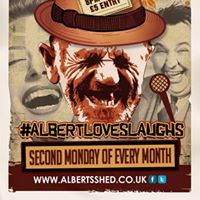 AlbertLovesLaughs Monthly Comedy Night