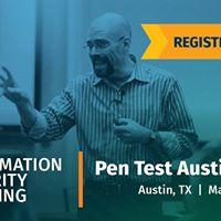 SANS Pen Test Austin 2018