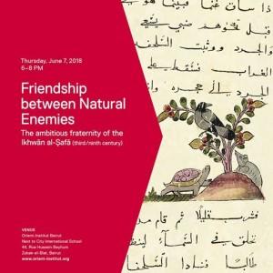 Friendship Between Natural Enemies