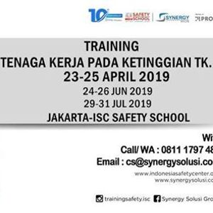 Training Tenaga Kerja pada Ketinggian Tk. 1