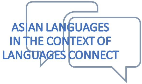 Asian Languages in the Context of Languages Connect