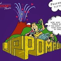 Up Pompeii Comedy Dinner Theatre 1 - 2 and 7 - 9 April in association with AEFest