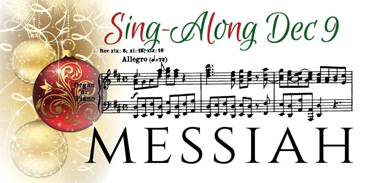 2018 MESSIAH SING ALONG - Sun DEC 9