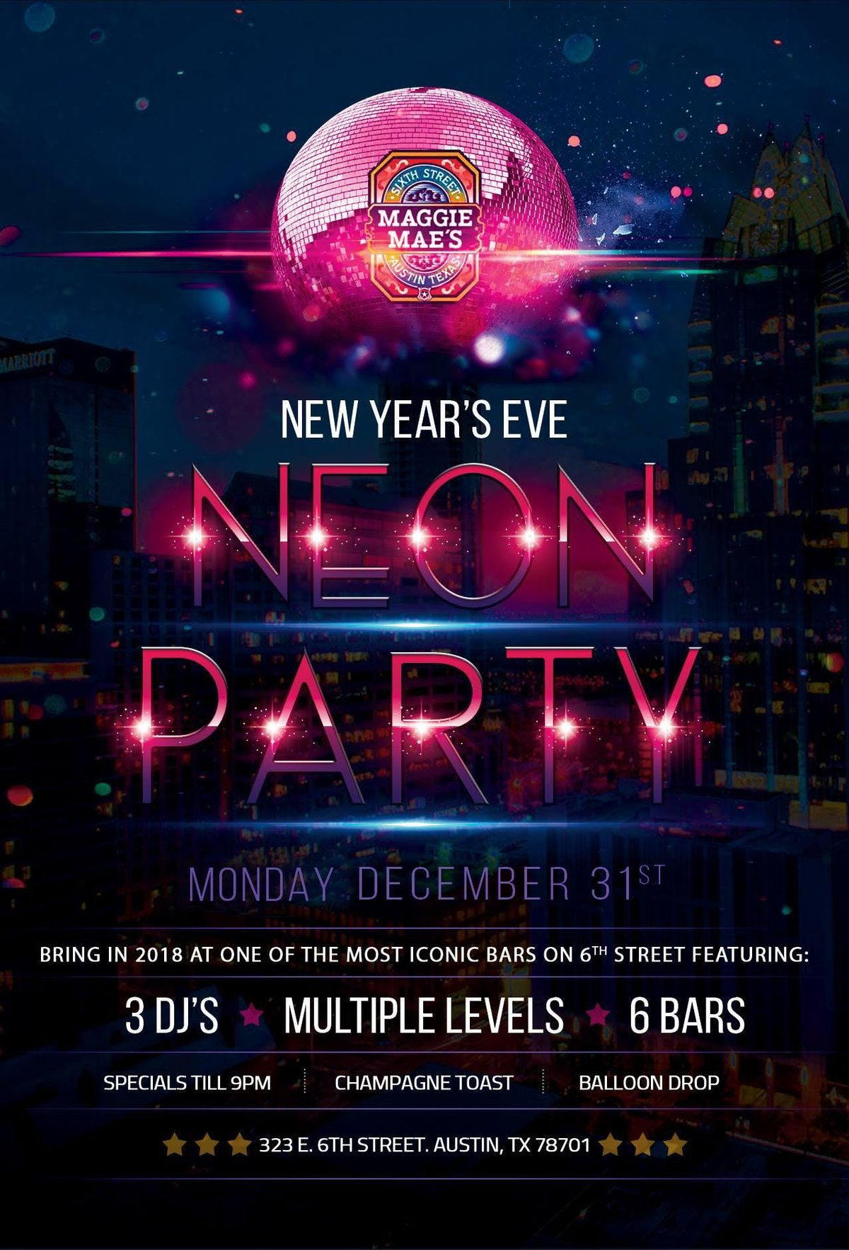 New Years Even Neon Party