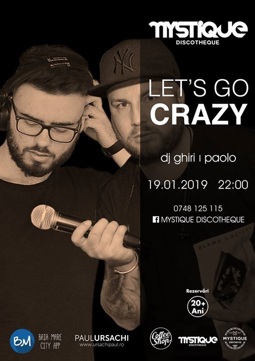 Lets Go Crazy - Mystique Discotheque