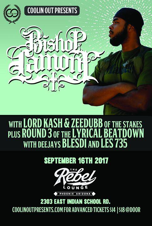 Bishop Lamont at The Rebel Lounge
