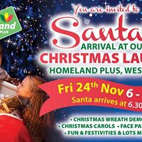 Christmas Launch and Santas arrival
