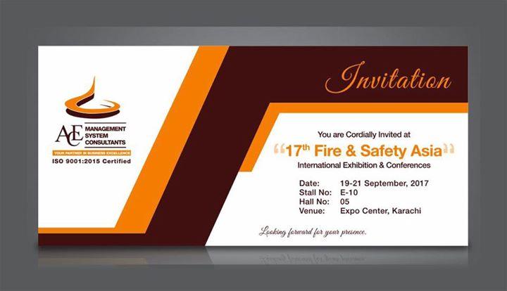 17th fire safety exhibition at expo centre karachi karachi event details stopboris Choice Image