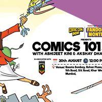 Comics 101 Workshop Mumbai