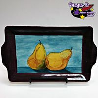 Eat Paint &amp Be Merry - Perfect Pear Platter