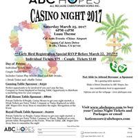 ABC Hopes Casino Night 2017
