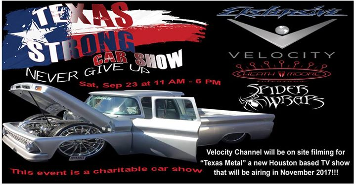 Texas Strong Car Show At Spider Wraps Marketing Solutions Llc Spring - Texas metal car show