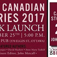Ottawa Best Canadian Stories 2017 Book Launch