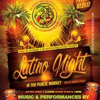 Latino Night At The Public Market