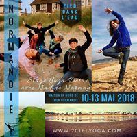 Stage Yoga Detox pieds dans leau en Normandie avec Nadine