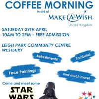 Table Top Sale &amp Coffee Morning in Aid of Make-A-Wish UK