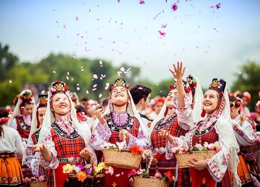 Festivalul Trandafirilor  Kazanlic Bulgaria