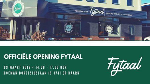 Officile opening Fytaal Baarn