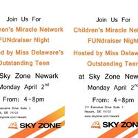 SkyZone FUNdraiser for Childrens Miracle Network