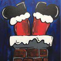 12 Paint Club PARTY &quotSantas Stuck&quot