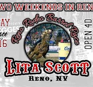 Lita Scott Reno Rodeo Barrel Race